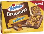 Hostess® Brownies made with Nestlé® Butterfinger® candy pieces