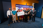 Cintas presents OdySea Aquarium with the America's Best Restroom award. (Photo: Business Wire)