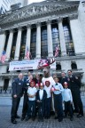 The Hartford commemorates the 70th anniversary of its Junior Fire Marshal program by ringing The Closing Bell at the New York Stock Exchange. (Photo: Business Wire)
