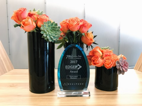 RealPage Awarded 2017 Economic Development, Growth & Expansion Award (EDGE) in the Category of Newco ...