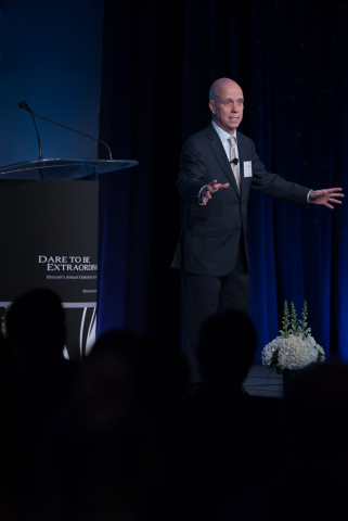 1984 men's Olympic figure skating gold medal winner, Scott Hamilton, shares his story of battling and surviving cancer. (Photo: Business Wire)