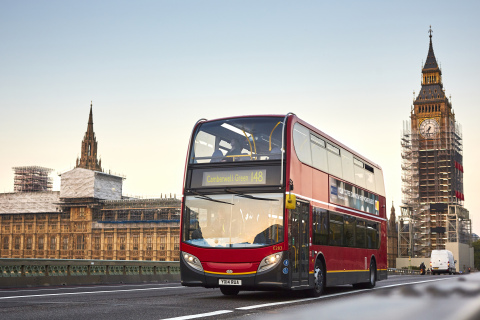 Shell and bio-bean announce that together they are helping to power some of London's buses using a b ...