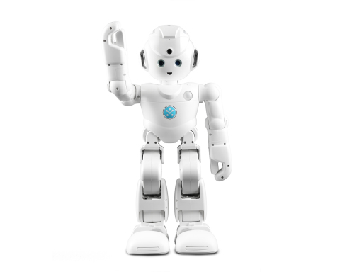 Lynx with Amazon Alexa is the first humanoid robot that combines UBTECH's award-winning proprietary robotics with Alexa, Amazon's cloud-based voice service. (Photo: Business Wire)