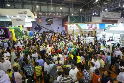 During Sharjah International Book Fair 2017 (Photo credit: Sharjah Book Authority)