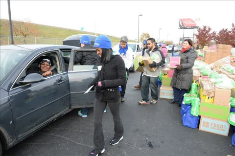 UnitedHealthcare and Magic Johnson Foundation hosted three Holiday Hope events over the weekend in D ...
