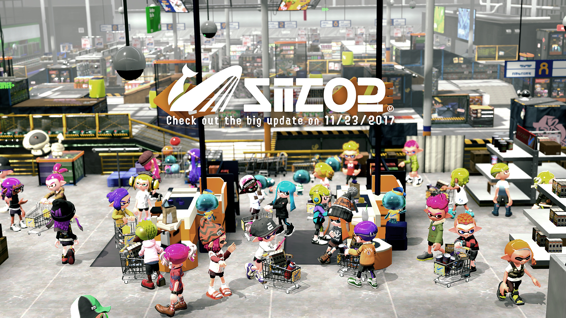 major splatoon 2 updates add new stages new modes and new ways to