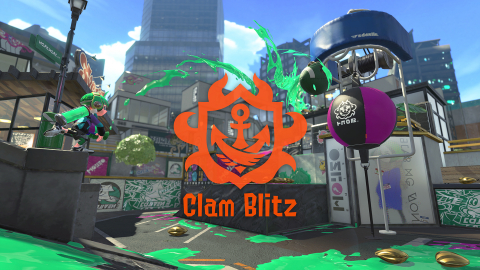 In Clam Blitz, competing Inklings are tasked with collecting clams scattered around the stage. (Graphic: Business Wire)