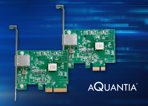 AQtion 5G & 10G Ethernet Adaptors available for $59 & $69 this Black Friday! (Photo: Business Wire)