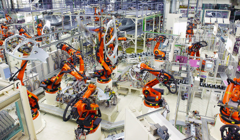 KUKA is driving the future with their new Metal & Arc TechCenter located at their headquarters in Sh ...