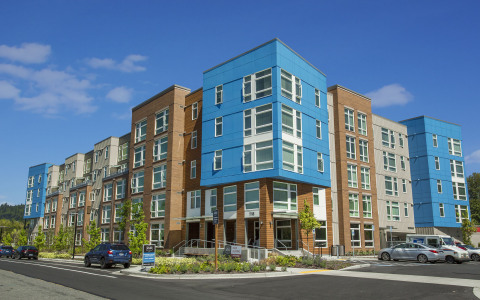 Atlas, a 343-unit apartment community in Issaquah, Washington (Photo: Business Wire)