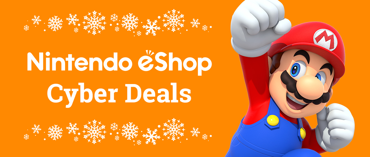 Dozens Of Games At Big Discounts Are Part Of The Nintendo Eshop Cyber Deals Business Wire