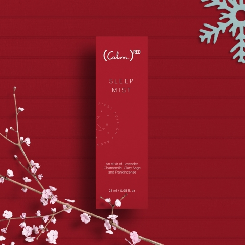 Limited Edition (RED) Sleep Mist (Photo: Business Wire)