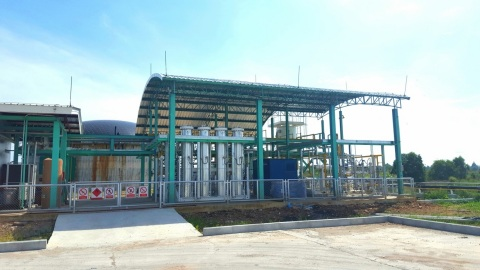 Pilot Biogas Refining Facility (Photo: Business Wire)