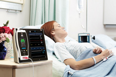 Masimo Root® Patient Monitoring and Connectivity Platform with NomoLine™ Capnography (Photo: Busines ...