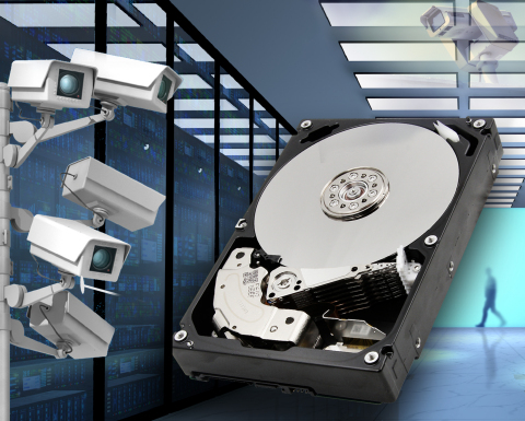 The MD06ACA-V, the latest addition to Toshiba's SV Series line-up of 3.5-inch hard drives for surveillance applications. (Photo: Business Wire)