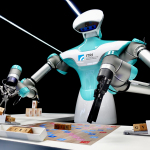 ITRI Exhibits Scrabble-Playing Robot, Portable Pesticide Detector, AI, Battery and Smart City Technologies at CES 2018