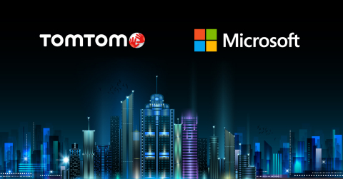 TomTom's APIs to Power Microsoft Azure's Newly Launched Location Based Services (Photo: Business Wir ...
