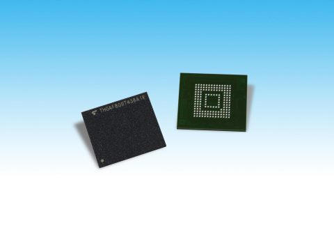 Toshiba Memory Corporation: UFS devices utilizing 64-layer, BiCS FLASH(TM) 3D flash memory (Photo: B ...