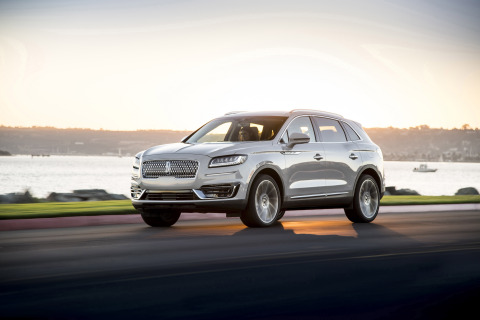 The Lincoln Motor Company introduces the new Lincoln Nautilus, a midsize luxury SUV delivering a pow ...