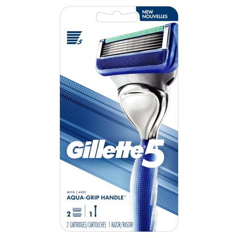 Gillette5 Razor (Photo: Business Wire)