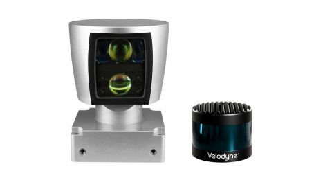 Velodyne LiDAR's VLS-128™ succeeds the HDL-64, still considered to be the industry benchmark for high resolution, showcasing a 10 times higher resolving power and ultra-high resolution that provides the most advanced safety capabilities on the market. (Photo: Business Wire)