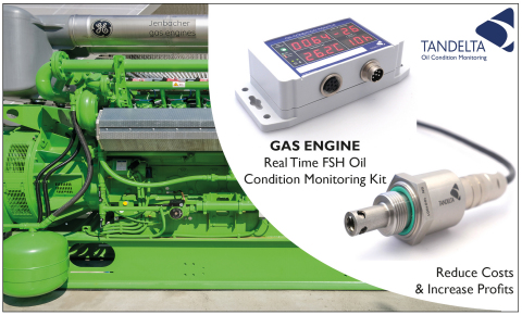 Gas Engine Oil Condition Monitoring (Photo: Business Wire)