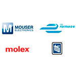 Mouser Electronics, TTI, Molex to Sponsor Formula E All-Electric Racing Team