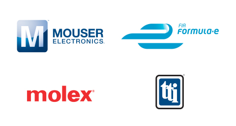 Mouser Electronics is teaming up with TTI, Inc. and Molex to sponsor Dragon Racing throughout the 2017-2018 FIA Formula E racing season. To learn more, visit www.mouser.com/formula-e.