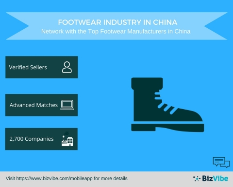 BizVibe Announces New B2B Networking Platform for Footwear Manufacturers in China (Graphic: Business Wire)