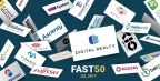 Digital Realty tops Cloudscene's Fast 50 Most Resilient Data Center Operators for 2017. (Graphic: Business Wire)