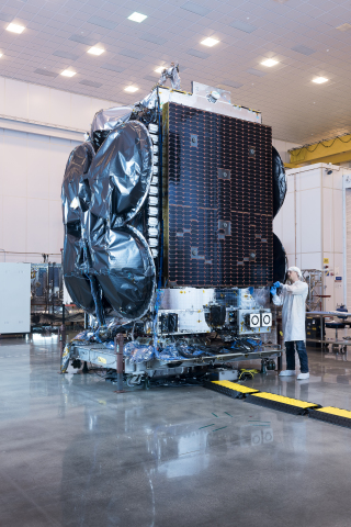 The Al Yah 3 satellite is scheduled for launch in January, 2018. (Photo: Business Wire)