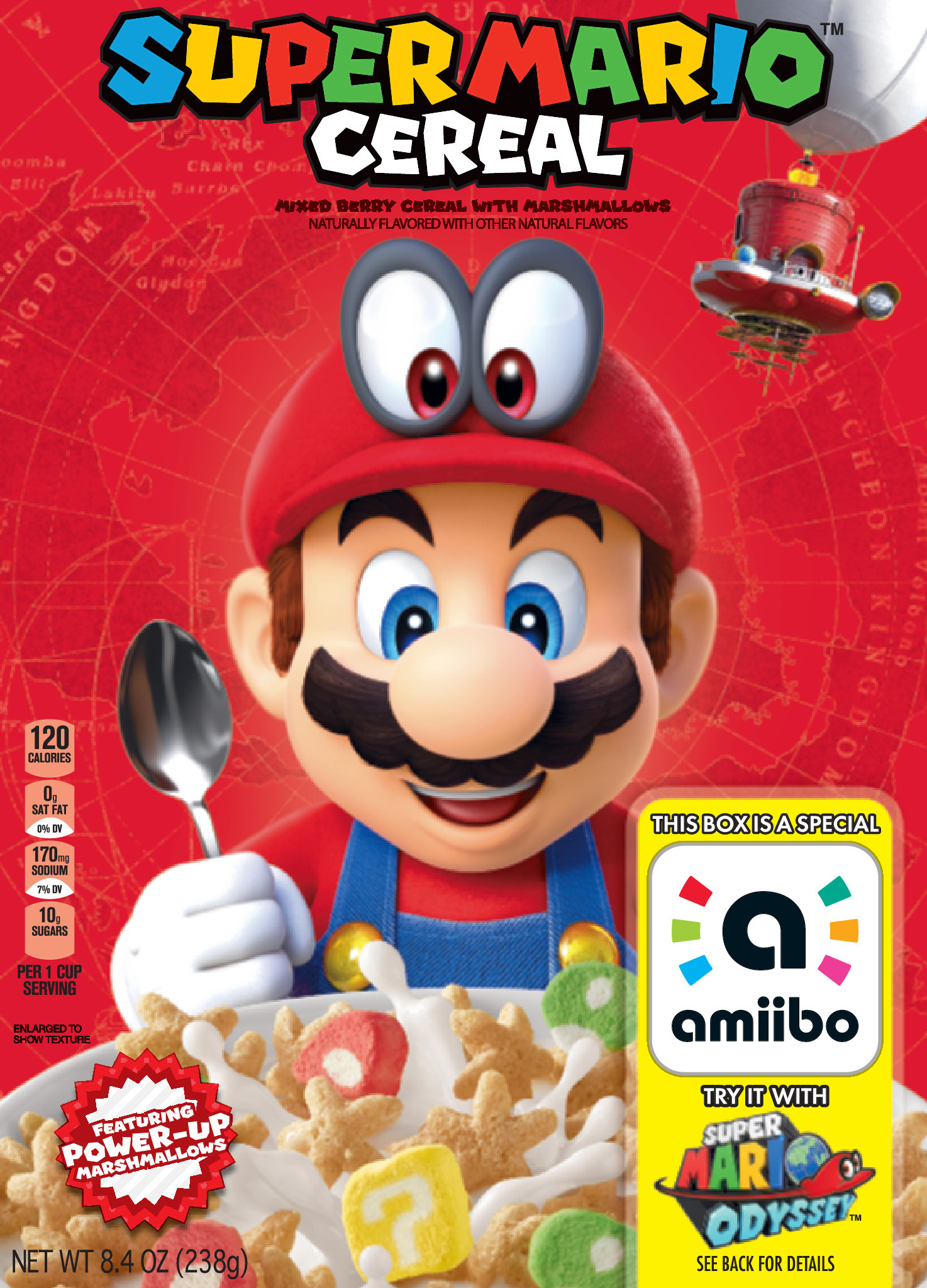 Super Mario Cereal from Kellogg's® Makes Breakfast a Playful
