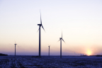 Avangrid Renewables' 150 MW MinnDakota Wind Farm, a portion of which is located in Brookings County, South Dakota, has been operating since 2008. (Photo: Business Wire)