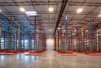 Hannibal Industries Provides Racking Solution for Western Window Systems (Photo: Business Wire)