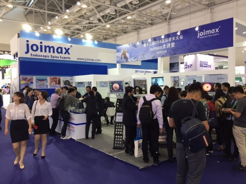 joimax® again had an outstanding presence at the 12th International Congress of the Chinese Orthoped ...