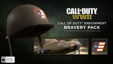 Activision Blizzard Call of Duty® WWII Bravery Pack (Graphic: Business Wire)