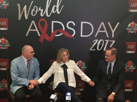 Miami: AHF Honors San Juan, PR, Mayor Carmen Yulin Cruz at Free World AIDS Day Concert Headlined by Becky G., Yandel & Sheila E.