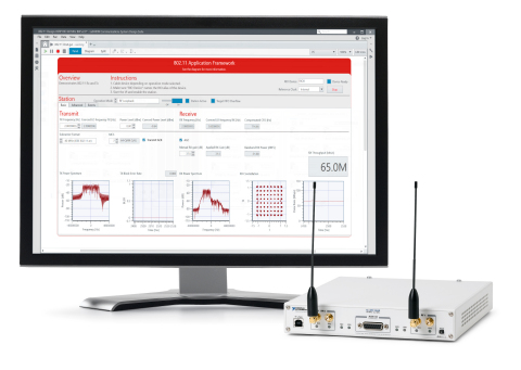 Wireless researchers can take advantage of the new multiuser MAC layer enhancements to the LabVIEW Communications 802.11 Application Framework to go beyond the PHY layer to address complex network-level problems that must be solved to make the 5G vision a reality. (Photo: Business Wire)
