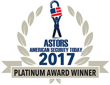 Kingston IronKey D300 Receives Platinum Award in 2017 'ASTORS' Homeland Security Awards Program (Graphic: Business Wire)