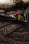 A closeup of the Han Solo Archive Edition parka signed by Harrison Ford. (Photo: Business Wire)