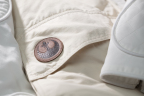 Details of the Leia Organa Echo Base Jacket, which includes the Rebel Alliance Patch. (Photo: Business Wire)