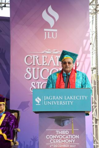 Mr. Kapil Wadhawan, Chairman, Wadhawan Global Capital (WGC) conferred with an Honorary Doctorate in Management by the Jagran Lakecity University, Bhopal, India. (Photo: Business Wire)