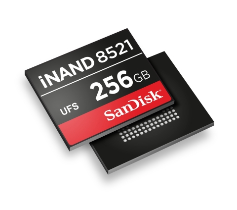 Western Digital introduces iNAND(r) 8521 embedded flash drive as part of a new portfolio of devices ...