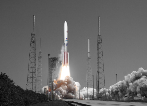 ULA's Vulcan Centaur rocket with a complete avionics package developed by L3. Photo rendering courtesy of ULA. (Photo: Business Wire)