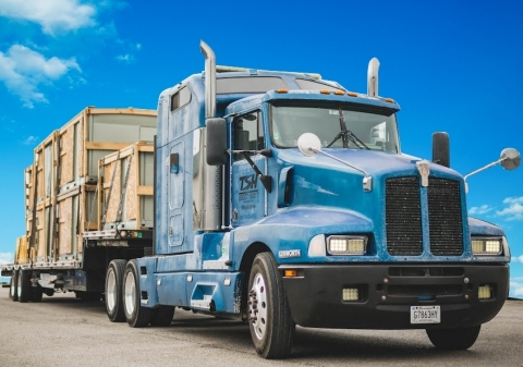 TSH & Co., which includes Tennessee Steel Haulers Inc., Alabama Carriers Inc. and Fleet Movers Inc., operates more than 1,100 trucks under its authority. Combined, TSH is one of the largest flatbed haulers in the region, hauling primarily steel and industrial materials. (Photo: Business Wire)