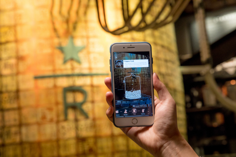 State-of-the-art premium Starbucks Reserve Roastery experience in Shanghai, China, introduces a groundbreaking augmented reality (AR) digital experience. (Photo: Business Wire)