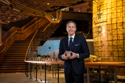 New Starbucks Reserve Roastery in Shanghai, China, is the first fully immersive coffee and retail ex ...