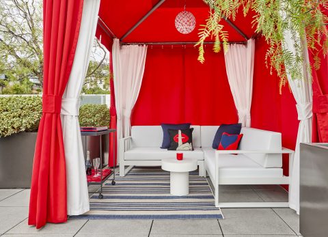 (ANDAZ)RED Cabana (Photo: Business Wire)