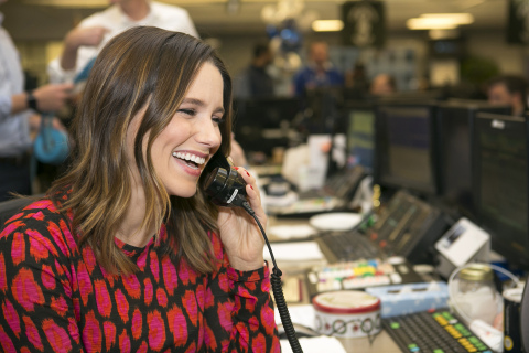 NEW YORK, NEW YORK, DECEMBER 5, 2017: Actress Sophia Bush raising money for The American Civil Liberties Union (ACLU) during the Annual ICAP Charity Day on December 5, 2017 in Jersey City, NJ. (Photo: Business Wire)