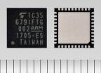 東芝デバイス&ストレージ(株):車載向けBluetooth(R) low energy対応IC 「TC35679IFTG」(写真:ビジネスワイヤ)